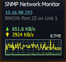 SNMP traffic grapher